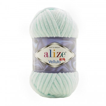 Alize Velluto / 100g - 68m / 15 Water Green