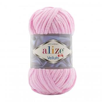 Alize Velluto / 100g - 68m / 31 Baby Pink