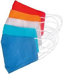 Farebné ochranné rúška 5ks