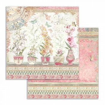 Scrapbookový papír / 12x12 / Vases