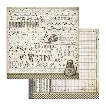 Scrapbookový papír / 12x12 / Ink