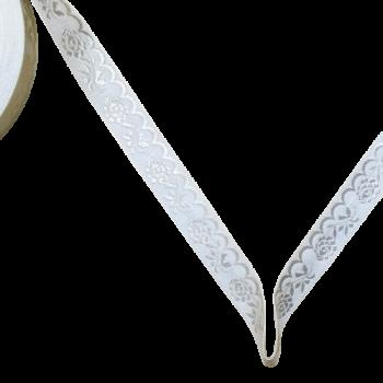 Krajka szerokość 20 mm / 1m / white