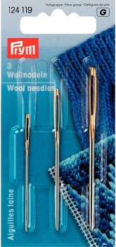 Prym wool needles 3pcs