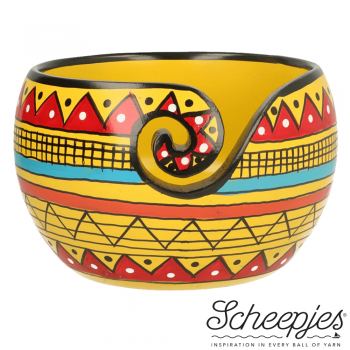 Scheepjes Yarn bowl mango wood