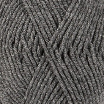 DROPS Merino Extra Fine MIX / 50g - 105m / 04 medium grey
