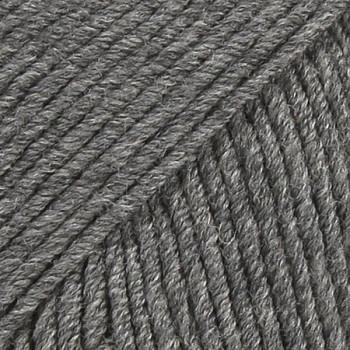 DROPS Merino Extra Fine MIX / 50g - 105m / 04 medium grey