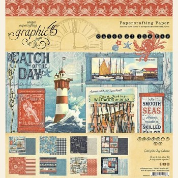 Catch of the Day / 8x8 / Sada papierov