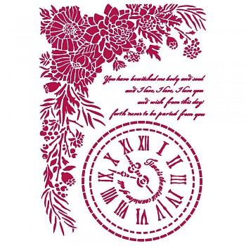 Šablóna / A4 / Romantic Journal Clock