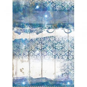 Ryžový papier na decoupage A4 / Romantic Sea Dream Texture