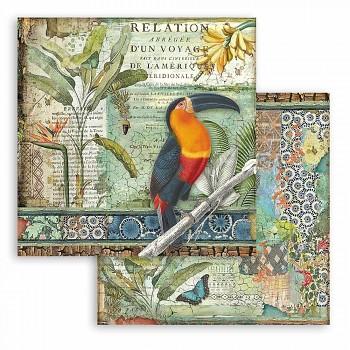 Scrapbookový papier / 12x12 / Amazonia Toucan