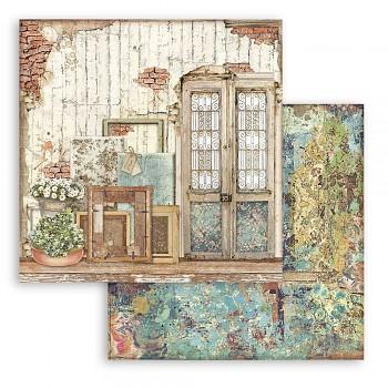 Scrapbookový papier / 12x12 / Atelier Door