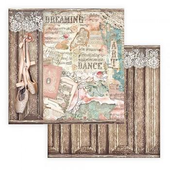Scrapbookový papier / 12x12 / Passion Ballet Shoes