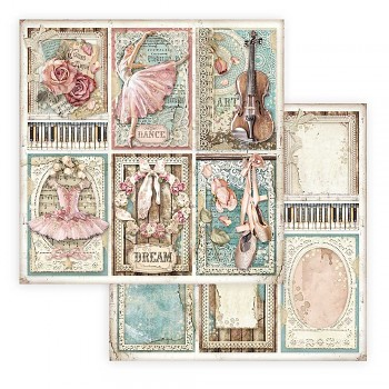 Scrapbooking paper / 12x12 / Passion Cards