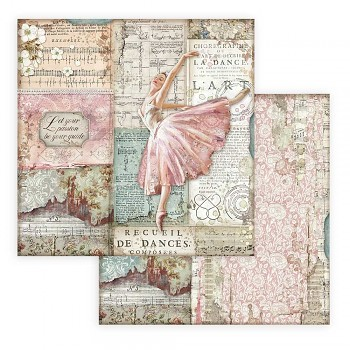 Passion Dancer / Dwustronny papier do scrapbookingu / 12x12