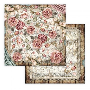 Scrapbookový papier / 12x12 / Passion Roses and Laces