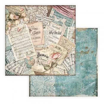 Passion Scores / Dwustronny papier do scrapbookingu / 12x12