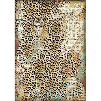 Rice decoupage paper A4 / Amazonia Texture