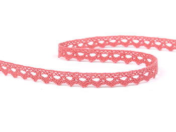 Cotton lace 9mm / rose