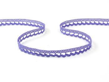 Paličkovaná čipka 10mm / purple II
