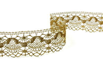 Cotton lace 53mm / gold