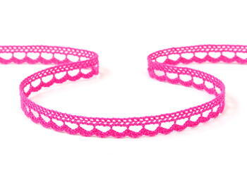 Lace ribbon 10mm / fuchsia