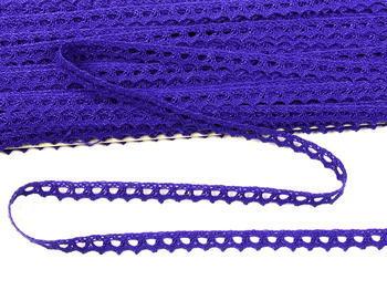 Paličkovaná krajka 9mm / purpurová