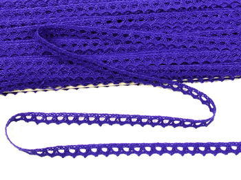 Cotton lace 9mm / purple
