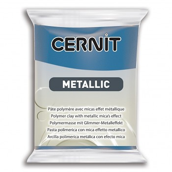 Cernit Metallic / 56g / blue / 200