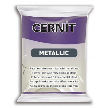 Cernit Metallic / 56g / purple / 900