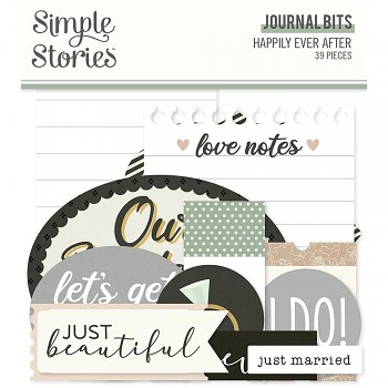 Happily Ever After Journal Bits
