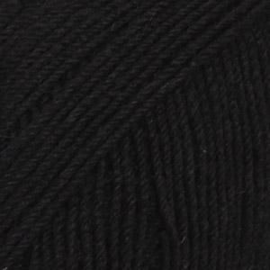 DROPS Fabel / 50g - 205m / 400 black