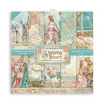 """Sleeping Beauty / 12x12"""" / Sada scrapbookových papierov"""