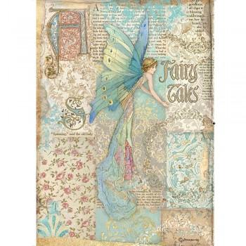 Rýžový papír na A4 / Sleeping Beauty Prince Fairy Tales