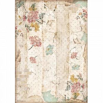 Ryžový papier na decoupage A4 / Alice Wall Texture