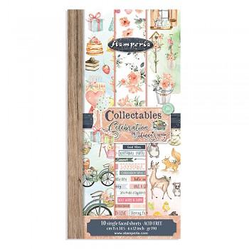 "Celebration / 6x12"" / Sada scrapbookových papierov"