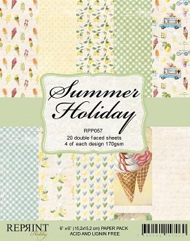 Summer Holiday / 6x6 / 20ks / Sada papierov