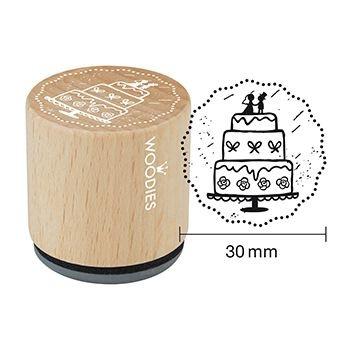 Drevené razítko / Wedding Cake / 3cm