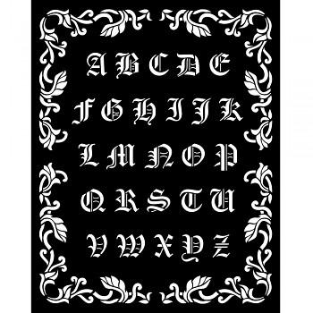 Šablóna / 20x25cm / Sleeping Beauty Alphabet