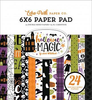Halloween Magic / 6x6 / Sada papierov