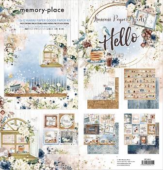 Kawaii Paper Goods Kit Hello 12x12 / sada papierov
