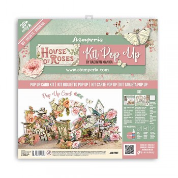 Pop Up Kit 12x12 Inch House of Roses