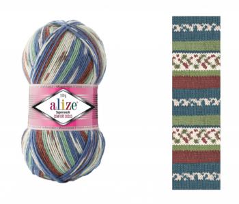 Superwash Comfort Socks / 100g / 7653