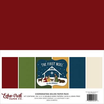 The First Noel 12x12 / Solids Kit