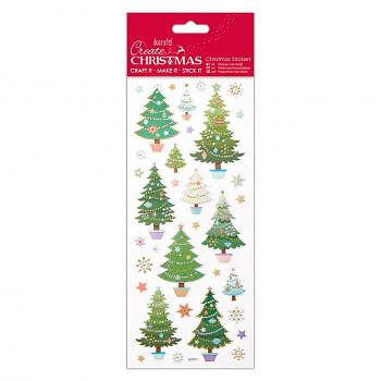 Samolepky / Christmas Trees
