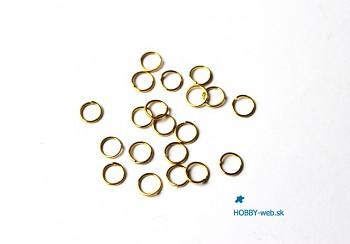 Jumpring / 100 pcs / 6 mm / gold
