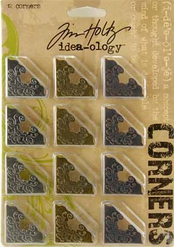 Corners / 12pcs / Tim Holtz