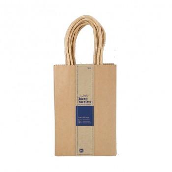Malá darčeková taška - Kraft (5ks)