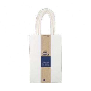 Malá darčeková taška - Biela (5ks)