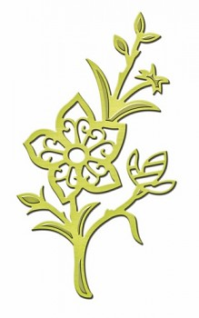 Kovové šablóny - Flower Surprise / D-Lites