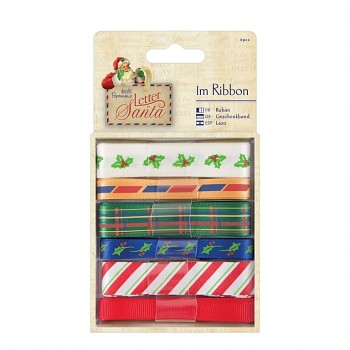 1m Ribbon (6pcs) - Letter to Santa